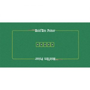 Trademark Poker Texas Holdem Layout, 36 x 72-Inch