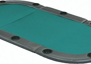 Fat Cat Tri-Fold Oval Poker Table Top